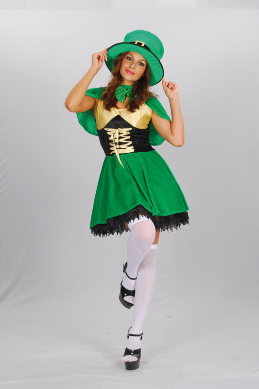 sc 1 st  Boogie Knights | Fancy Dress Costumes : girl leprechaun costume  - Germanpascual.Com